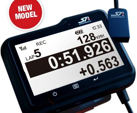 STI SpeedAngle Apex Lap Timer with Lean Angle Measurement
